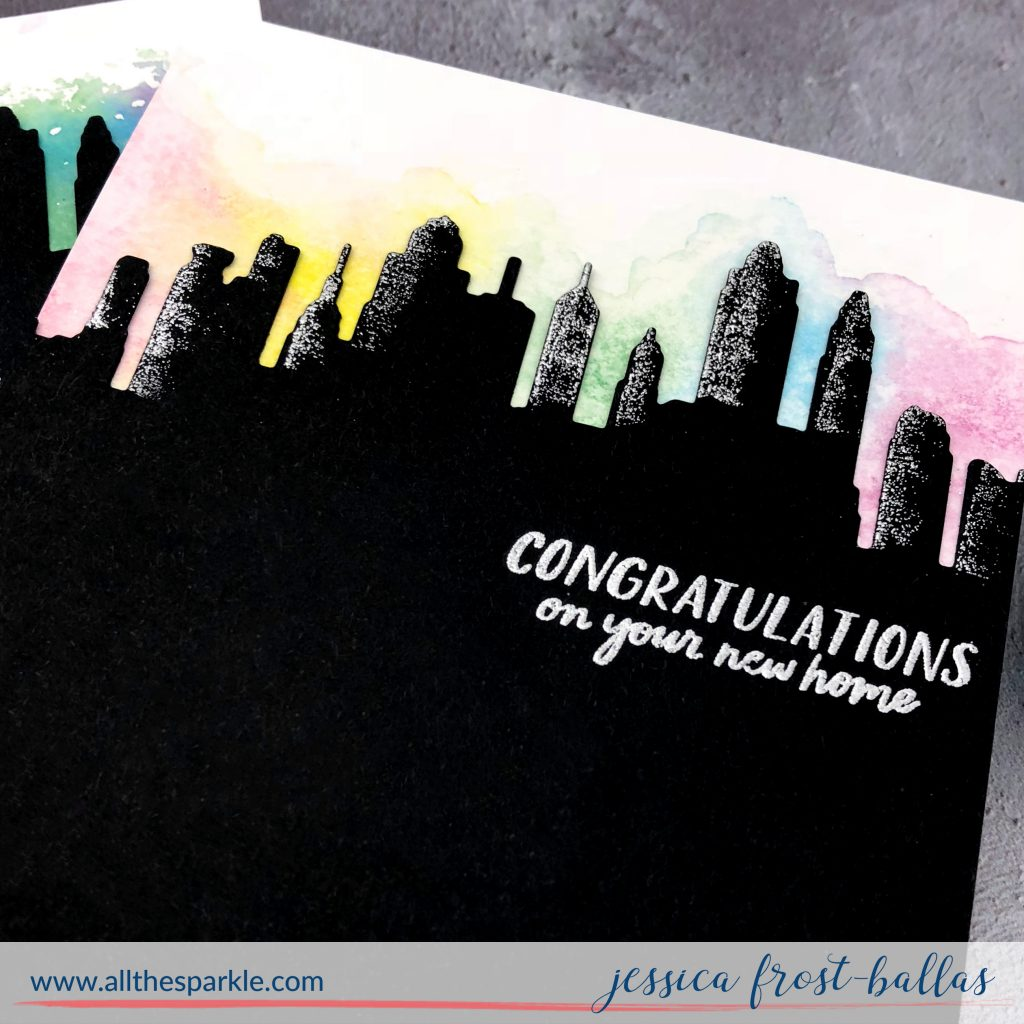 Liquid Watercolors by Jessica Frost-Ballas for Hero Arts
