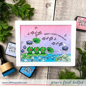 Hoppy Birthday by Jessica Frost-Ballas for Waffleflower