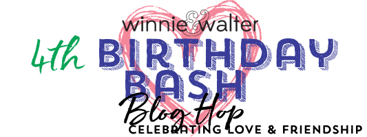 Winnie & Walter 4th Birthday Bash Blog Hop