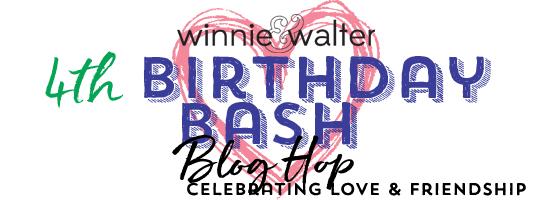 Winnie & Walter 4th Birthday Bash Blog Hop