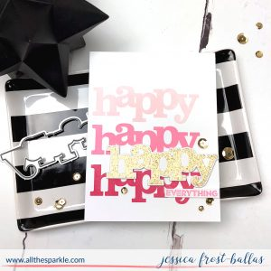 Happy by Jessica Frost-Ballas for Winnie and Walter