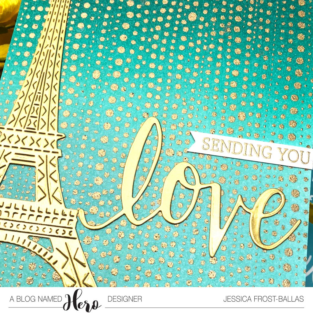 Sending You Love by Jessica Frost-Ballas for A Blog Named Hero