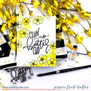 Chin Up Buttercup by Jessica Frost-Ballas for Simon Says Stamp