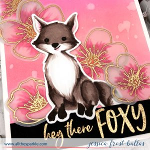 Hey There Foxy by Jessica Frost-Ballas