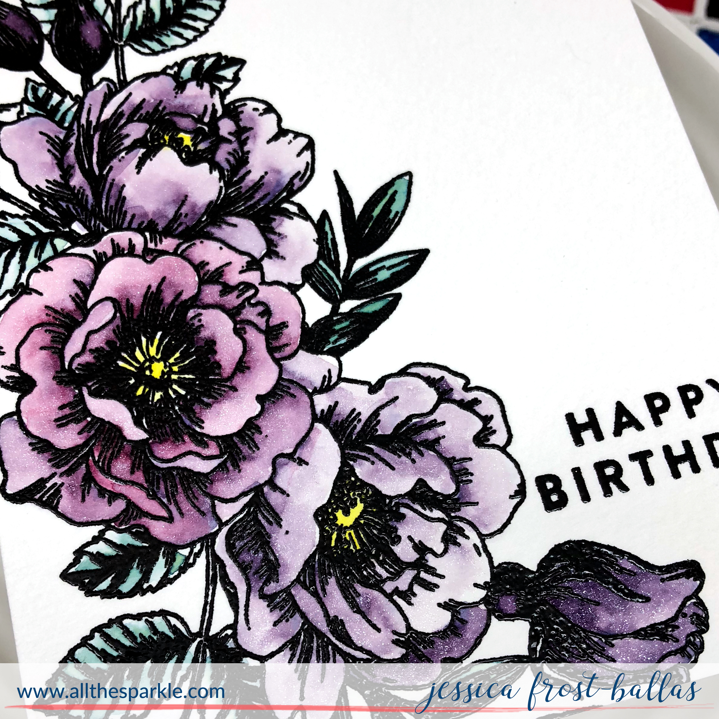 Happy Birthday by Jessica Frost-Ballas for Simon Says Stamp