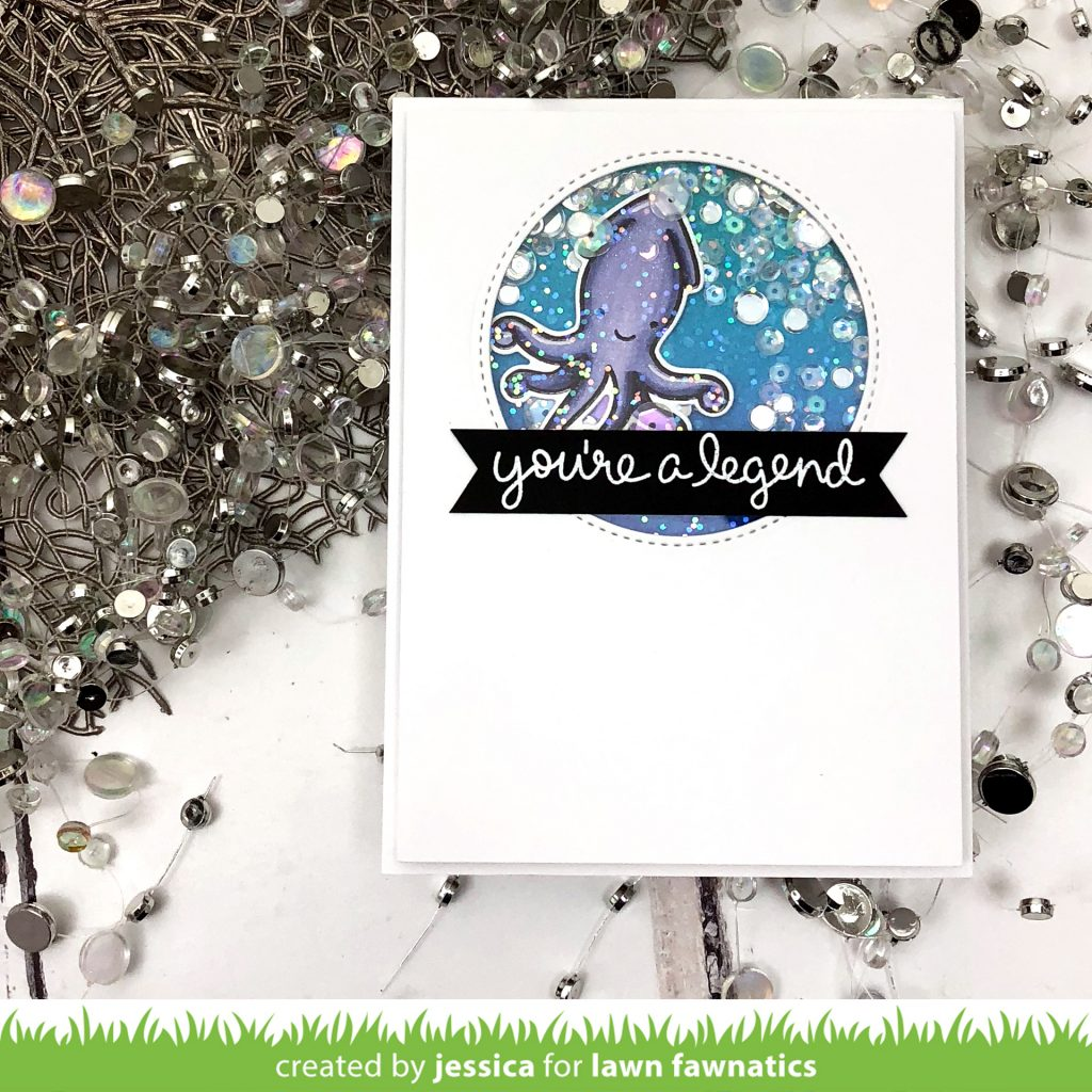 You're a Legend by Jessica Frost-Ballas for Lawn Fawnatics