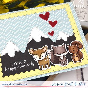 Gather Happy Moments by Jessica Frost-Ballas for Hello Bluebird