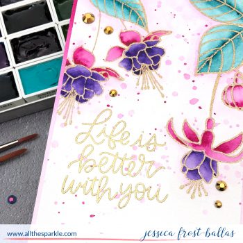 Life is Better With You by Jessica Frost-Ballas for Pretty Pink Posh