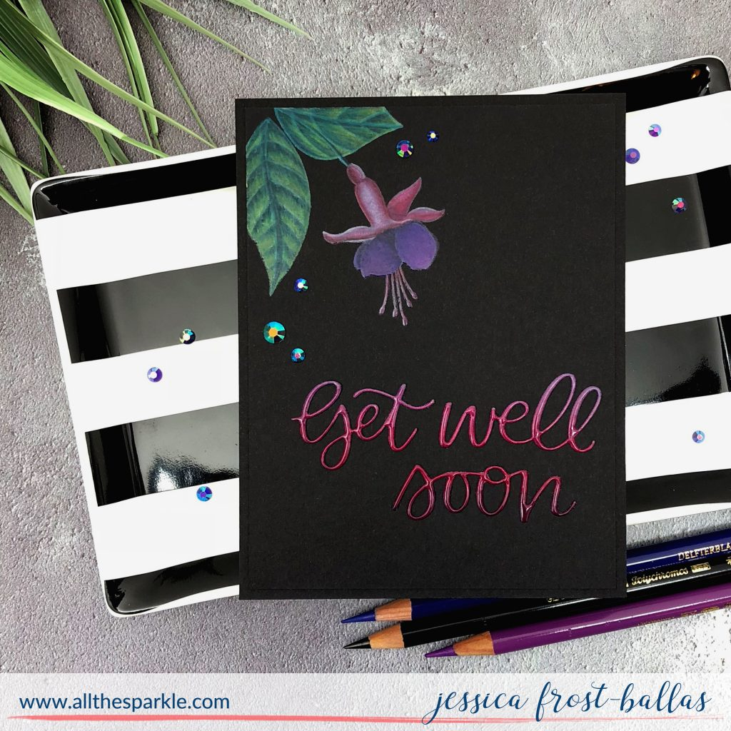 Get Well Soon by Jessica Frost-Ballas for Pretty Pink Posh