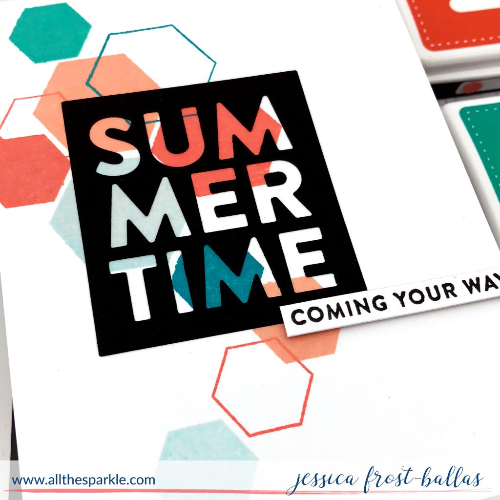 Summertime by Jessica Frost-Ballas for Simon Says Stamp