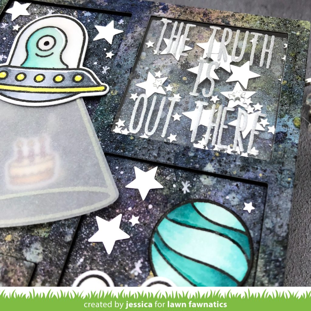 The Truth is Out There by Jessica Frost-Ballas for Lawn Fawnatics