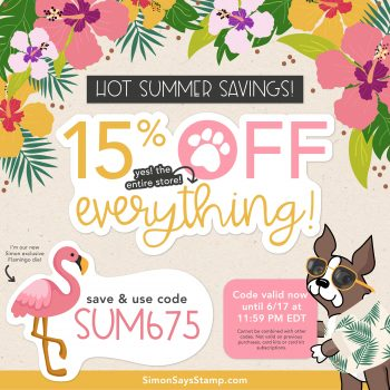 Simon Says Stamp Summertime Sale!!