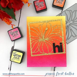 Hi by Jessica Frost-Ballas for Simon Says Stamp