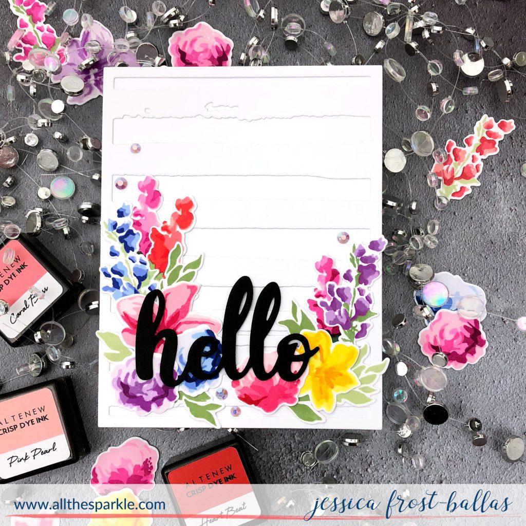 Hello by Jessica Frost-Ballas for Altenew