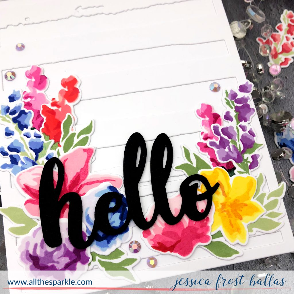 Hello by Jessica Frost-Ballas for Altenew