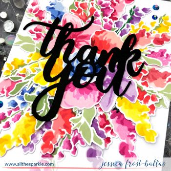 Thank You by Jessica Frost-Ballas for Altenew