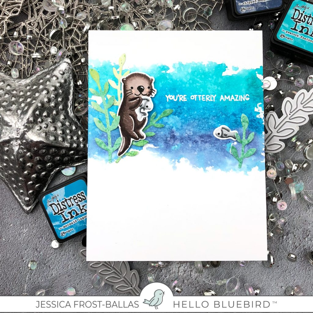 You're Otterly Amazing by Jessica Frost-Ballas for Hello Bluebird