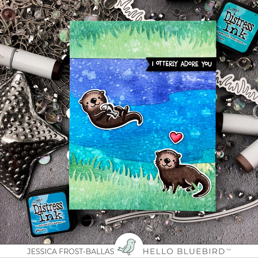 I Otterly Adore You by Jessica Frost-Ballas for Hello Bluebird