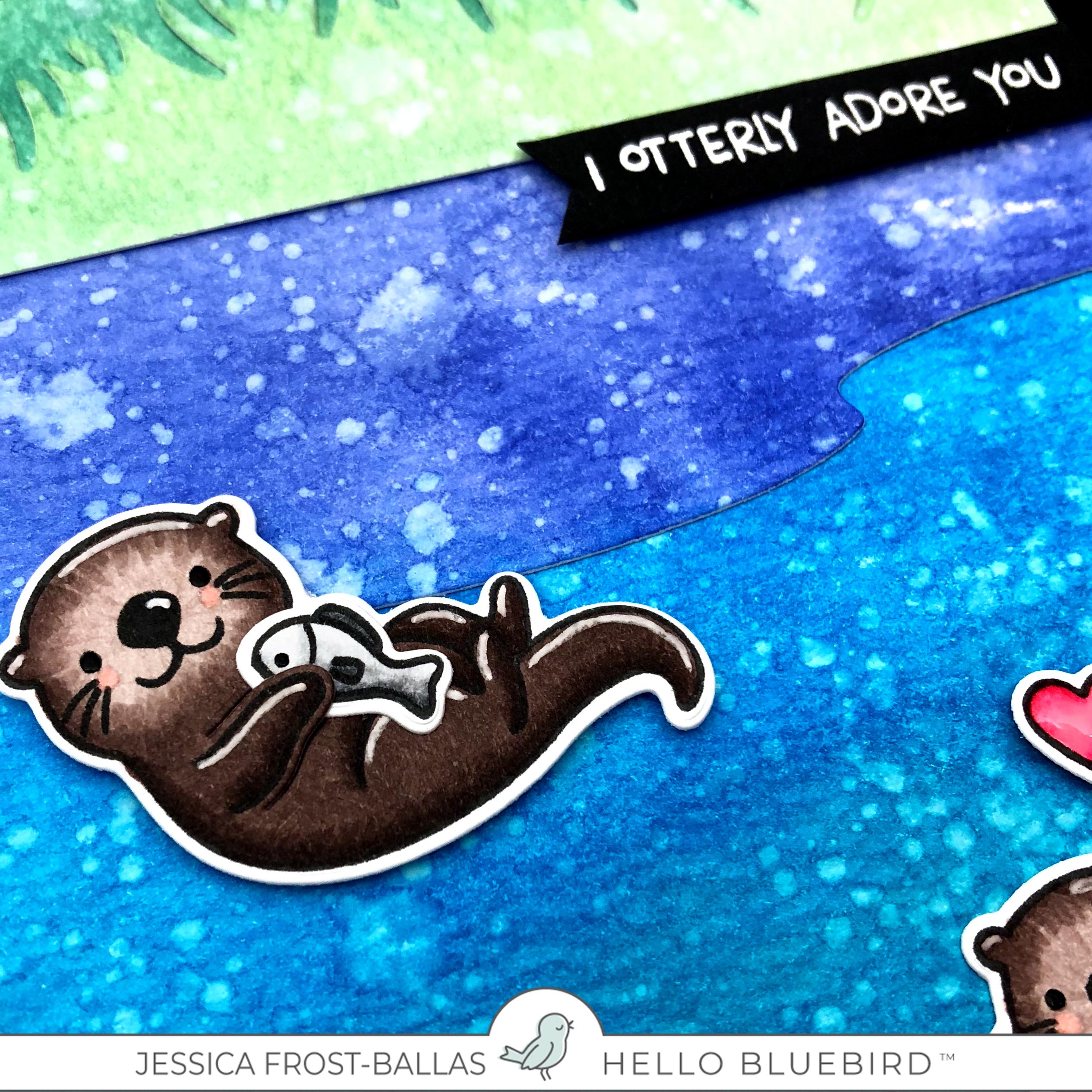 I Otterly Adore You by Jessica Frost-Ballas for Hello Bluebird