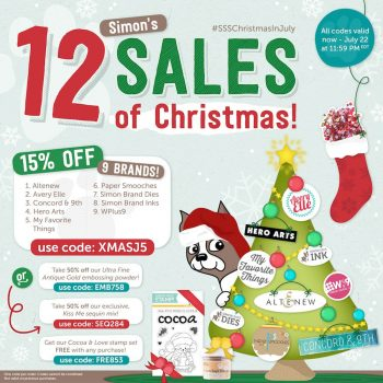 Simon's 12 Sales of Christmas!!