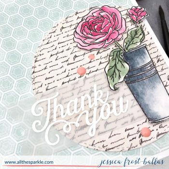 More from the Simon Says Stamp August Kit: Mandy's Flowers