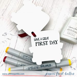 Have a Great First Day by Jessica Frost-Ballas for Simon Says Stamp