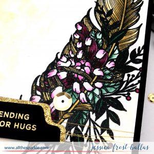Sending Major Hugs by Jessica Frost-Ballas for Simon Says Stamp