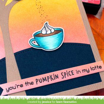 Lawn Fawnatics Challenge #35: Coffee, Tea, and Treats