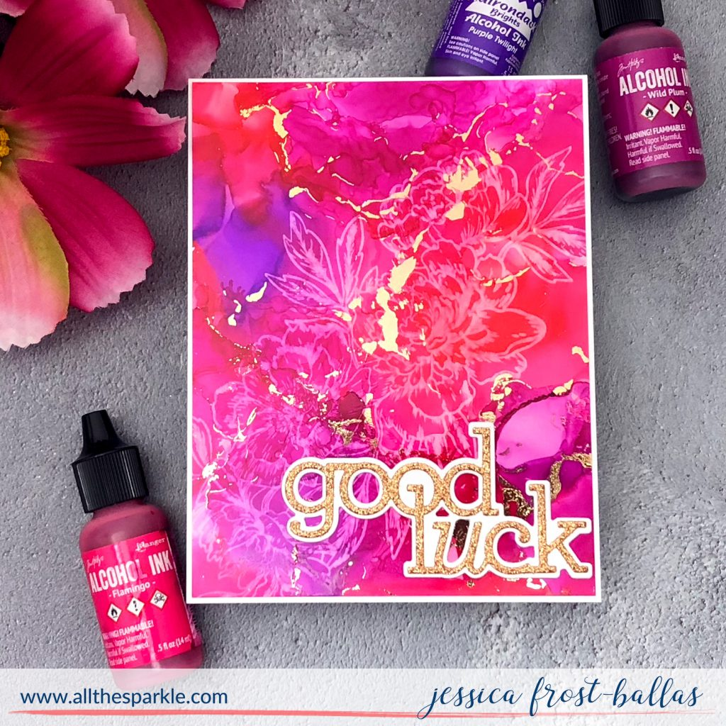 Good Luck by Jessica Frost-Ballas for Simon Says Stamp