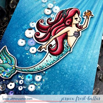 More from the Simon Says Stamp September Kit: Sea Treasures!