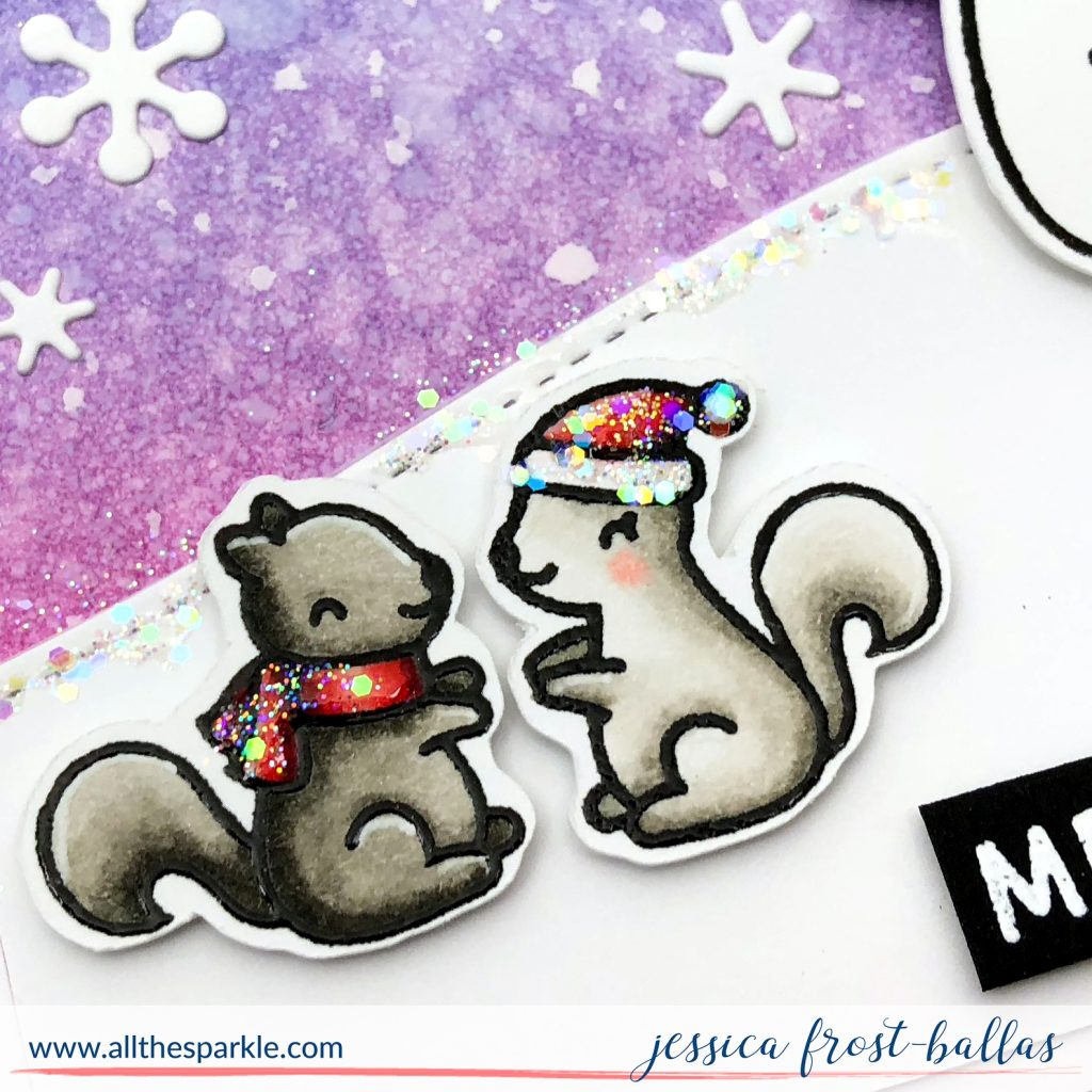 Merry Christmas by Jessica Frost-Ballas for Simon Says Stamp