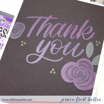 Distress Oxide Ink Stamping on Dark Cardstock STAMPtember Day 30 (+VIDEO!)