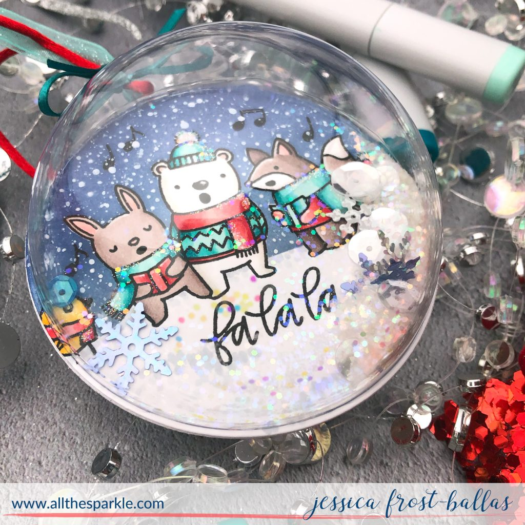 Fa La La by Jessica Frost-Ballas for Pretty Pink Posh