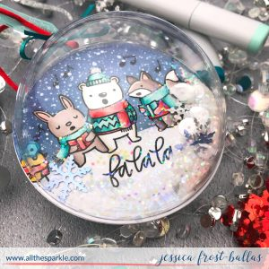 Fa La La by Jessica Frost-Ballas for Pretty Pink Posh