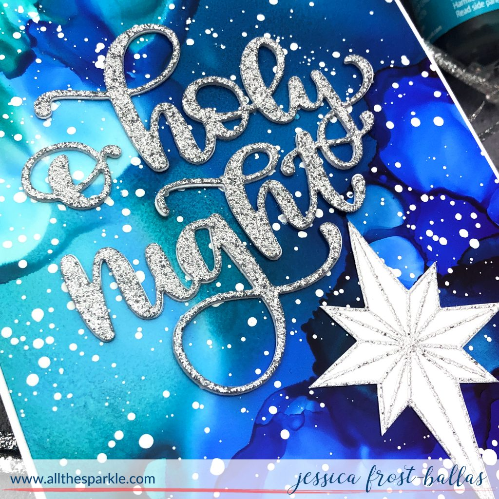 O Holy Night by Jessica Frost-Ballas for Simon Says Stamp