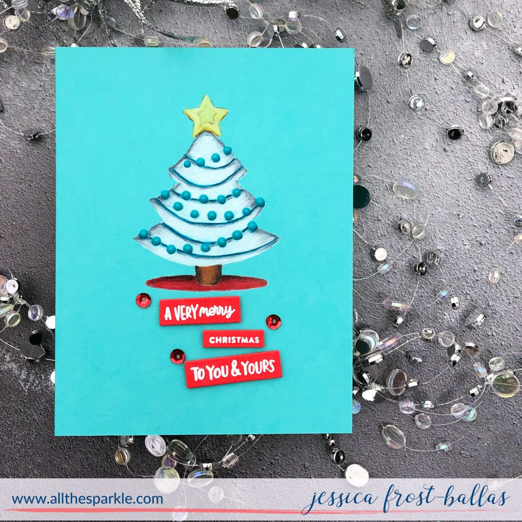 A Very Merry Christmas by Jessica Frost-Ballas for Simon Says Stamp