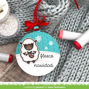 Fleece Navidad by Jessica Frost-Ballas for Lawn Fawnatics