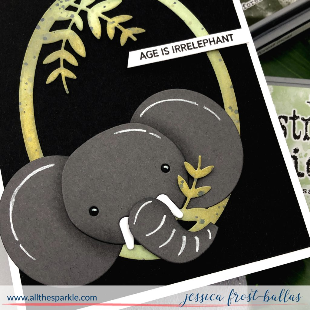 Big Picture Book Elephant by Jessica Frost-Ballas for Simon Says Stamp