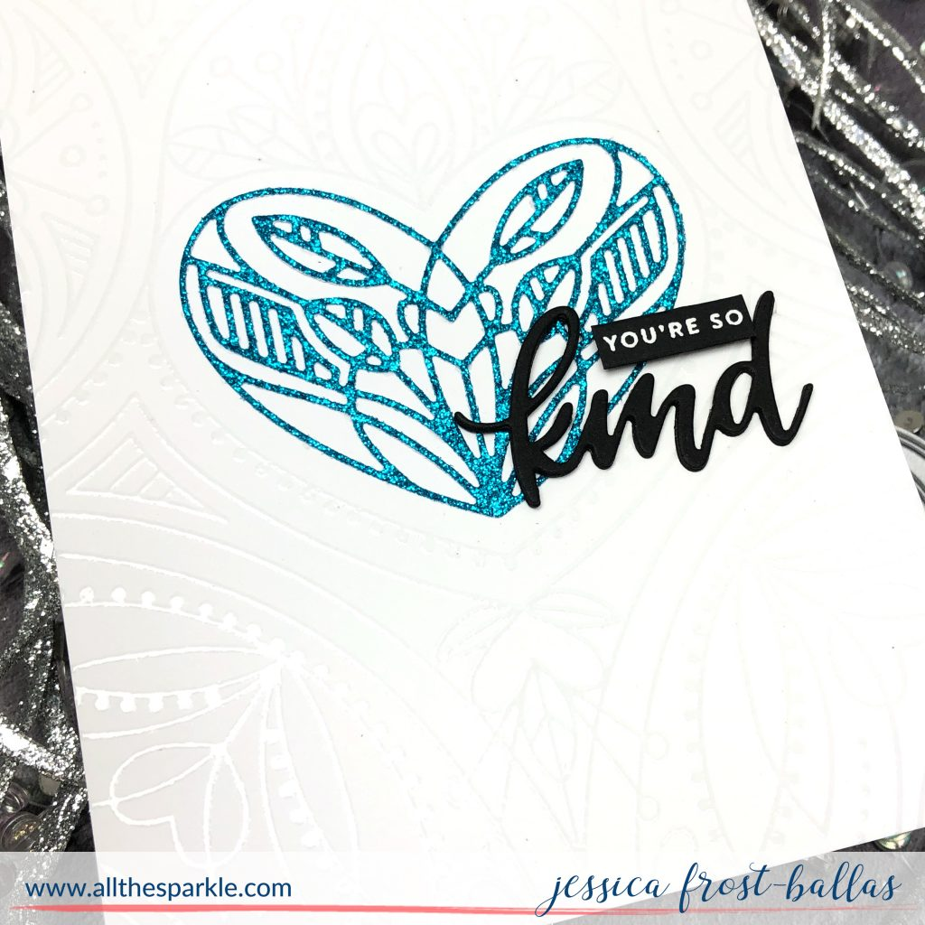 You're So Kind by Jessica Frost-Ballas for Simon Says Stamp DieCember