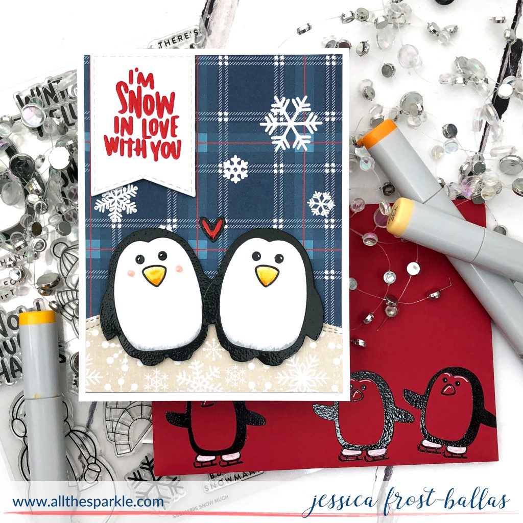I'm Snow in Love with You by Jessica Frost-Ballas for Simon Says Stamp