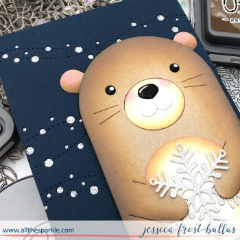There's No Otter Like You by Jessica Frost-Ballas for Simon Says Stamp, DieCember 2018