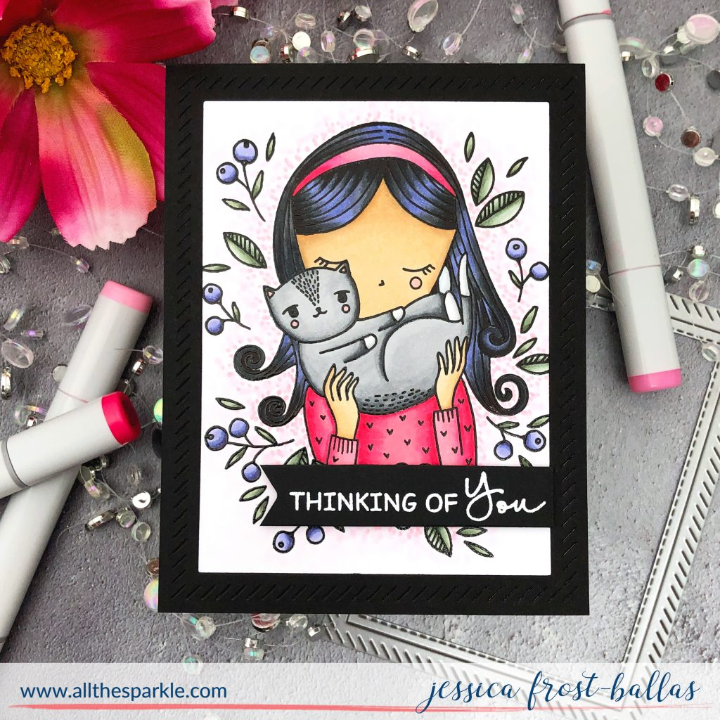 Thinking of You by Jessica Frost-Ballas for Waffleflower