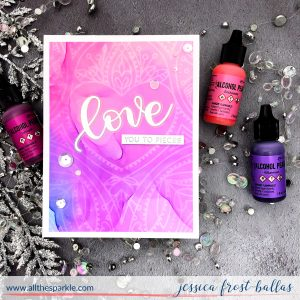 Love You to Pieces by Jessica Frost-Ballas for Simon Says Stamp
