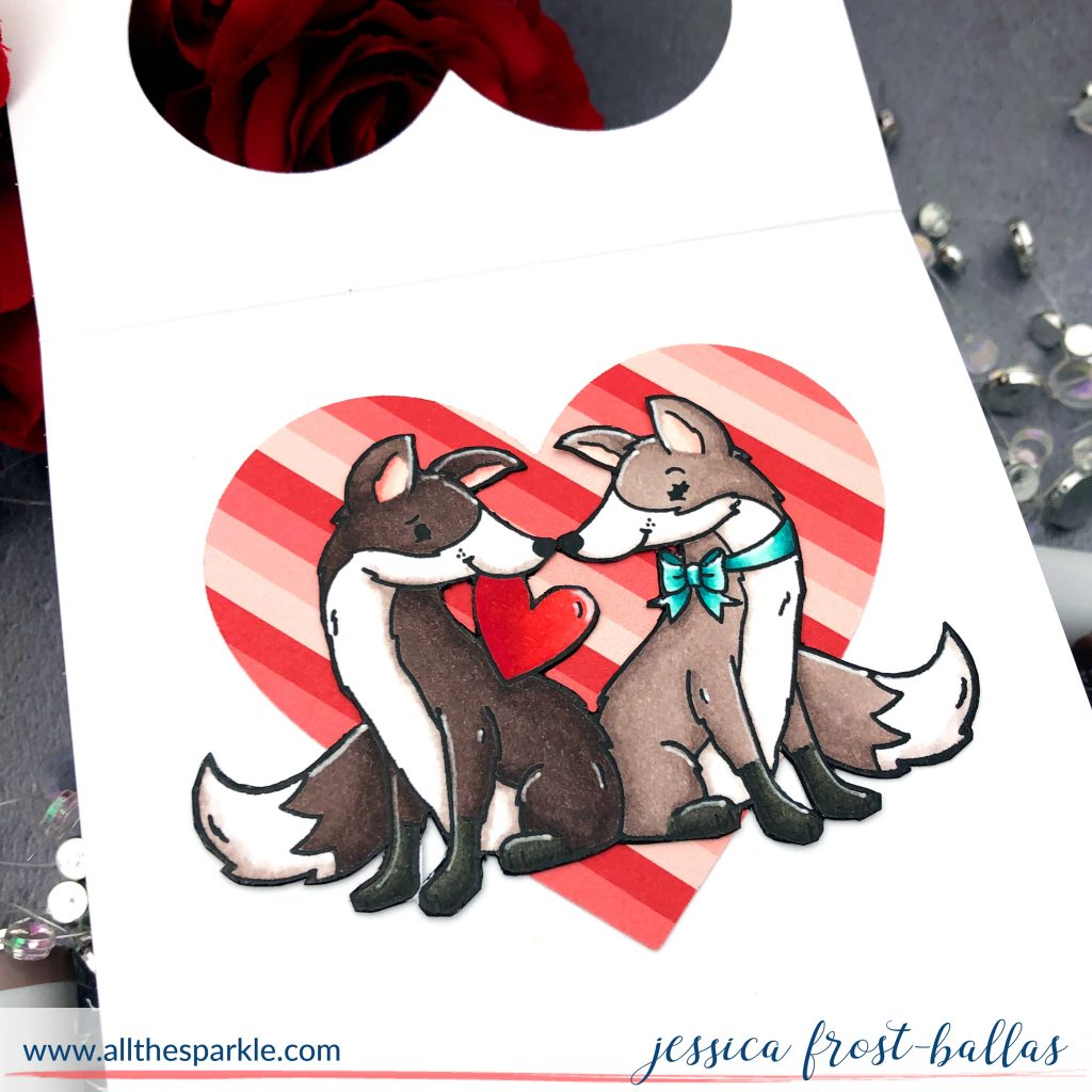 Hey Foxy by Jessica Frost-Ballas for Simon Says Stamp