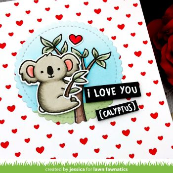I Love You by Jessica Frost-Ballas for Lawn Fawn