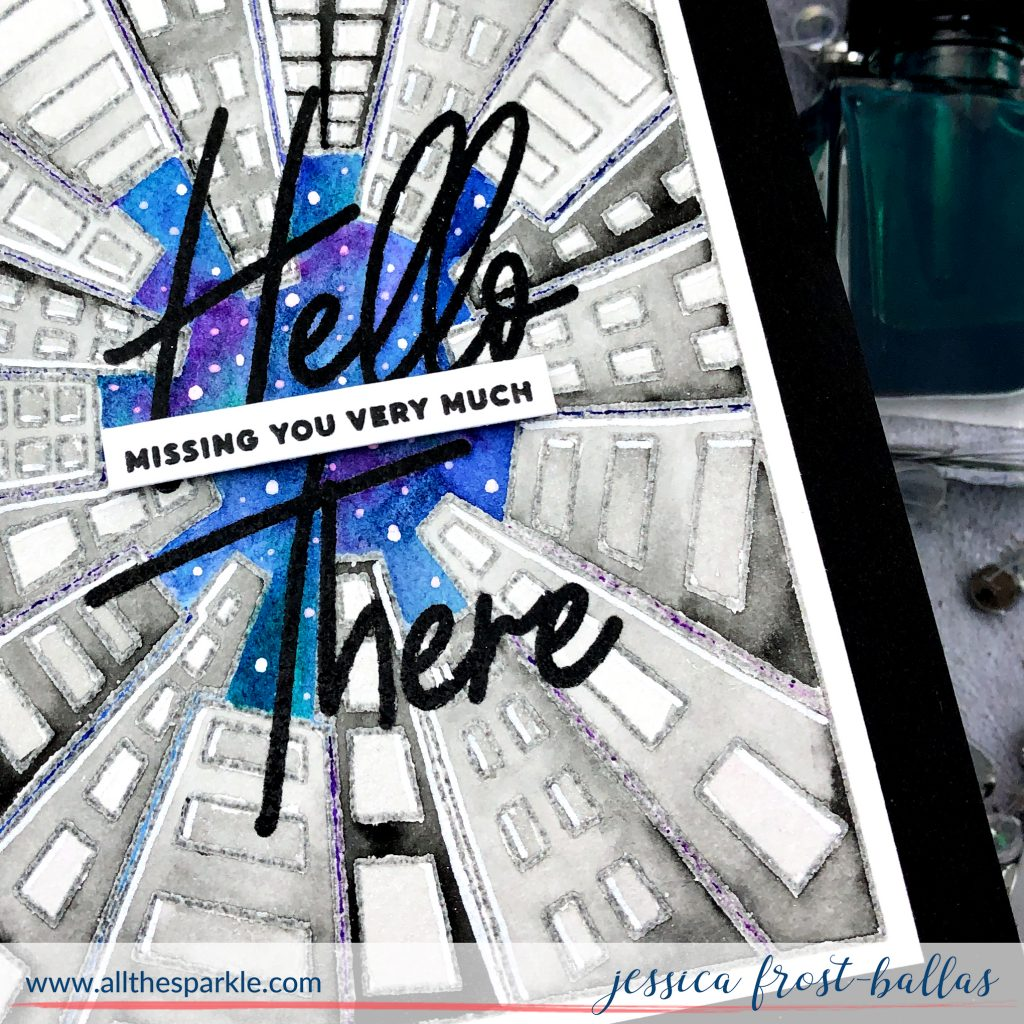 Hello There by Jessica Frost-Ballas for Pinkfresh Studios
