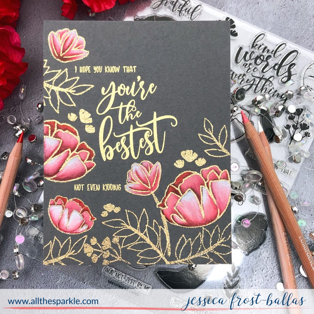 You're The Bestest by Jessica Frost-Ballas for Simon Says Stamp