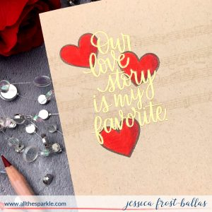 Our Love Story by Jessica Frost-Ballas for Simon Says Stamp