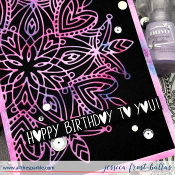 Happy Birthday To You by Jessica Frost-Ballas for Simon Says Stamp
