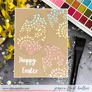 Happy Easter by Jessica Frost-Ballas for Simon Says Stamp